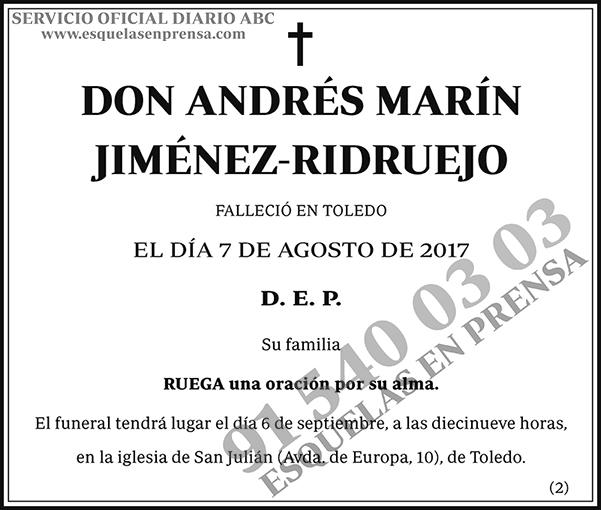 Andrés Marín Jiménez-Ridruejo
